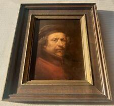 Willem George Frederik Jansen 1871-1949 Rembrandt original signed oil painting