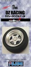 Fujimi Models 1/24 17inch OZ Racing Wheels & Tyres Set (4 Wheels with Tyres)