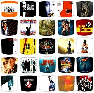 Hollywood Movies Films Lampshades Ceiling Lights Table Lamps Bedding Curtains
