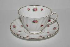 ROYAL DOULTON china ROSEBUD CUP AND SAUCER - H4845