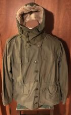 RARE ORIGINAL WW2 US ARMY WOMANS M1943 FIELD JACKET SIZE 36R WAC M43 W HOOD WWII
