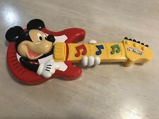 New listing 2010 Mattel Disney Mickey Mouse Clubhouse Musical Rocking Guitar Mattel Toy 15�