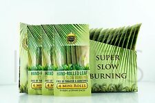 12x King Palm Wraps Mini Size 100% Tobacco Free Leaf Rolls With Corn Husk Filter