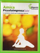 amica PICCOLA IMPRESA suite COMPLETO licenza pc cdrom office NUOVO contabilità