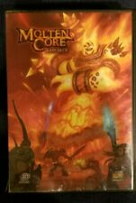 WORLD OF WARCRAFT MOLTEN CORE RAID DECK with The Horde Art Card Set Open Box