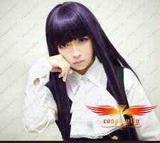 Inu x Boku SS Shirakiin Ririchiyo 100cm light black Cosplay Costume Wig
