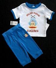 "Paul Frank 12 Month Toddler Little Boys 2-Piece ""Must Have Cuddles"" Pant Set"