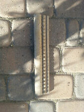 4x Cast Stone Border Tile T-400 Noce MS 200 Discounted! 2 1/2 x 13 inches