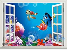 Finding Nemo Dory Fish 3D Window Removable Wall Decal Kids Decor Nursery Sticker