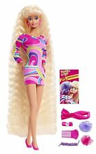 BARBIE TOTALLY HAIR 25TH ANNIVERSARY DOLL HAIR STYLING LIMITED EDITION DWF49