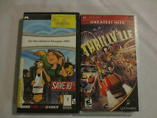 Lot of 2 PSP games Thrillville and Star Wars Battlefront Renegade complete