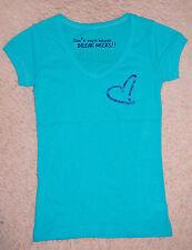 HPNOTIQ Blue Womens T Shirt Ladies SMALL Woman's TEE Hypnotic Hipnotic Hypnotiq