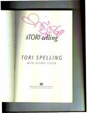Tori Spelling signed Stori Telling 1st print softcover book Beverly Hills 90210