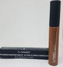 Mac 100% Auténtico Pro Longwear Impermeable Ceja Set Tostado Rubia Nuevo