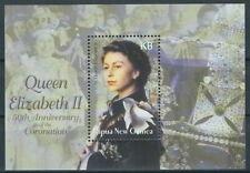 Papua Neuguinea - 50 Jahre Krönung Elisabeth Block 25 postfrisch 2003 Mi. 988