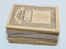 Journal of Chemical Education - 10 vintage back issues 1930, 1931, 1932