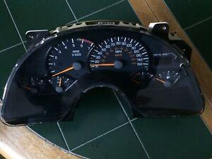 1999-2002 Firebird Trans Am 150mph Instrument Gauge Cluster