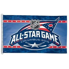 COLUMBUS BLUE JACKETS 2015 ALL-STAR GAME 3'X5' FLAG BRAND NEW WINCRAFT
