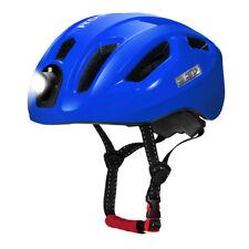 RockBros Bike Bicycle Cycling Ultralight Helmet USB Recharge Smart Light Blue