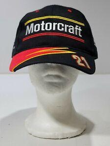 Vintage Motorcraft US Air Force NASCAR Racing Ricky Rudd #21 Adjustable Hat Cap