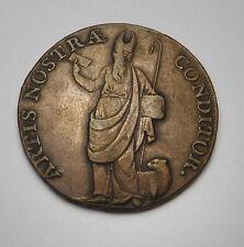 1793 Leeds Artis Nostra Conditor Half Penny Condor Token