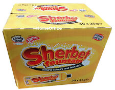 Barrat Sherbet Fountains With Liquorice Straw - Box Of 30