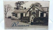 More details for vintage postcard blacksmiths shop gretna green priest signature r rennison 1930
