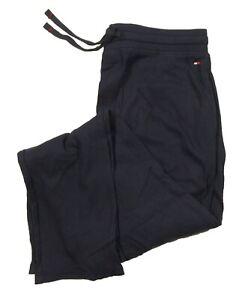 NWOT Tommy Hilfiger Sleepwear Men's Navy Waffle Knit Thermal Jogger Pants