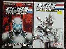G.I. Joe Players & Pawns Ties that Bind Tpb Snake Eyes Oop Rare 1st Print