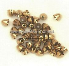 5mm Brass Coneheads - Gold