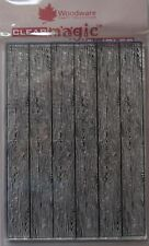Woodware Clear Acrylic Stamp WOOD PANEL  background fence