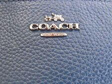 """New ... """"Coach"""" Small Leather Wrislet Clutch Wallet With Shearling Trim!!"""