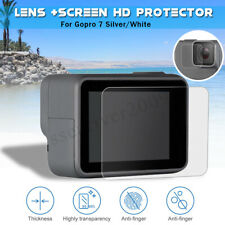 Upgraded Lens + Screen Protector Accessories Kit For GoPro Hero 7 White / Silver