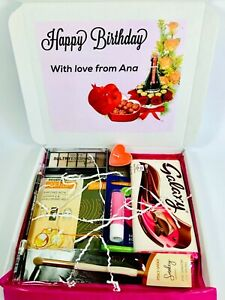 BIRTHDAY LADIES GIFT HAMPER PERSONALISED BIRTHDAY GIFTS FOR HER