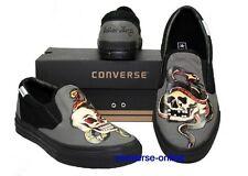 Kinder Jungen Mädchen Converse All Star Sailor Jerry Slipper Sneaker Schuhe Größe UK 2.5