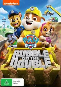 Paw Patrol - Rubble On The Double! DVD