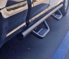 Hoop Style Drop Step Nurf Bar Running Boards fit:09-14 Ford F-150 Crew Cab