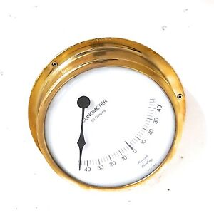 Hanseatic Clinometer Oil Damping Brass Germany IMI-115