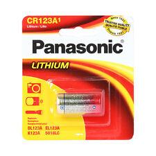 Panasonic CR123A Lithium Lithium Photo Battery 3V For Camera / 10 pcs