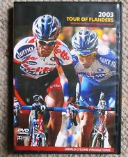 2003 Tour of Flanders World Cycling Productions 2 Dvd set Van Petegem Clean