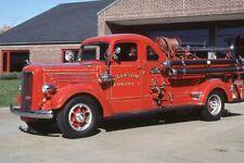 Clinton MA Engine 1 1939 Mack 80 Pumper - Fire Apparatus Slide