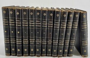 John L. Stoddard's 1901 Lectures 10 Volumes, Plus 3 Extra Norwood Press Compl