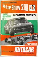 Brands hatch 18th oct 1970 barc motor racing programme officiel