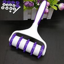 Hi Brand Fondant Strip Ribbon Cutter Embosser Roller Sugarcraft Cake Tool Decor