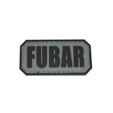 FUBAR 5ive Star PVC Morale Patch