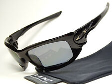 Oakley Scalpel Black Polarized Sonnenbrille Scar Ten Valve Gascan Eyepatch Antix