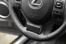 Carbon Fiber Steering Wheel Covor interior For Lexus IS250 IS300 RC NX ISF RCF