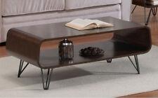 Coffee Table Mid CENTURY Modern Retro Vintage Walnut Tables Open Storage Display & Walnut Coffee Tables for sale   eBay