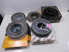 Lot of 5 35mm Film Slide Projector Carousels Kodak 140, Transvue 80 & Others