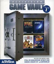 Activision Game Vault Volume 1 Pitfall Zork Shanghai Ii Earthworm Jim Sealed Box